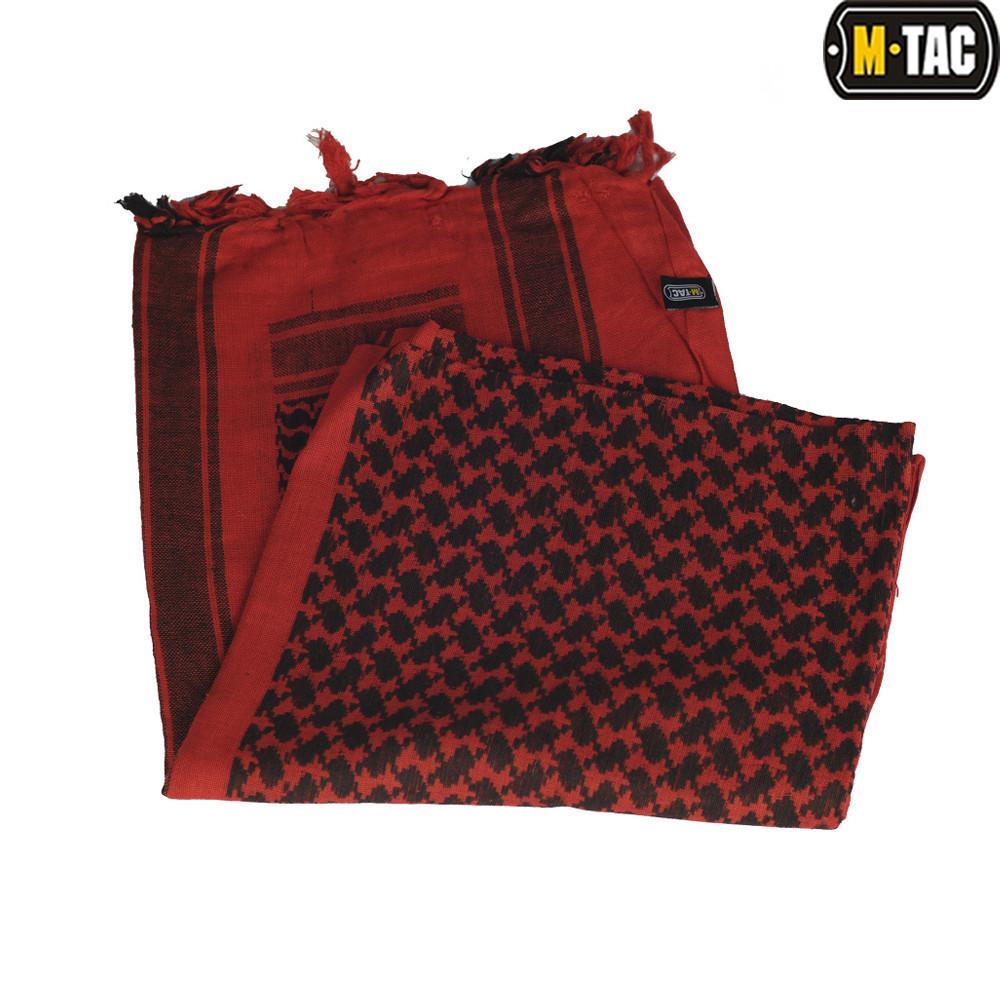 Шарф шемаг  красный/чёрный (M-Tac)
