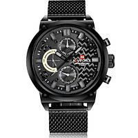 Мужские часы Naviforce 1298 Черные