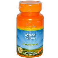 Мака (женьшень перуанский) 525 мг 60 капс  витамины для мужчин (для мужской силы и потенции) Thompson USA