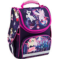 Школьный каркасный рюкзак kite 501 lp18-501s-2 little pony