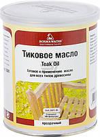 Масло тиковое ST Teak Oil Borma Wachs прозрачный 1 л