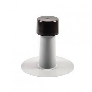 Аэратор кровельный ПВХ 110/ 325 мм (флюгарка) для плоской кровли