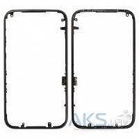 Передняя панель корпуса (рамка дисплея) Apple iPhone 3G / 3GS Black