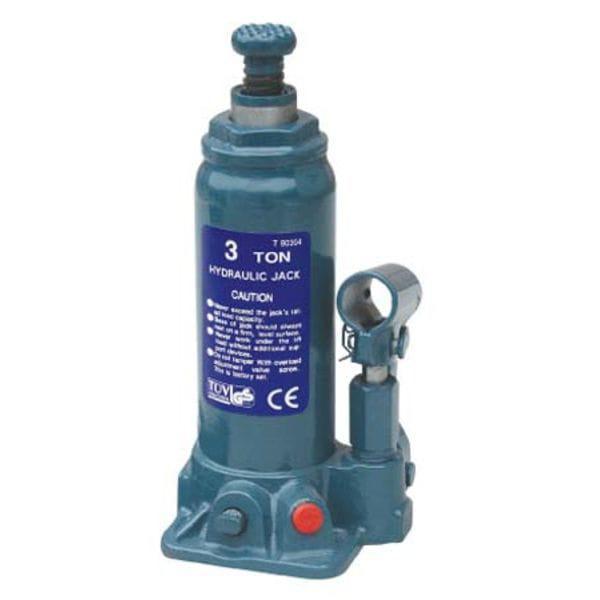 Домкрат бутылочный 3т 194-372 мм T90304 TORIN