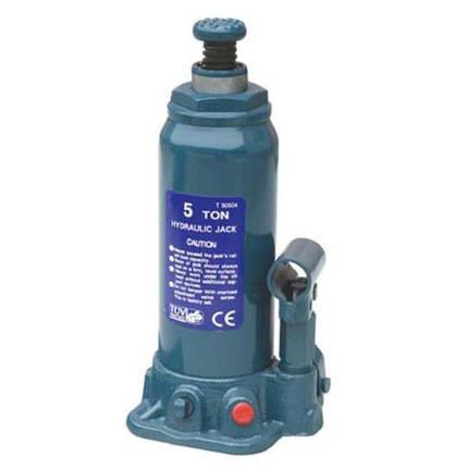 Домкрат бутылочный 5т 216-413 мм T90504 TORIN, фото 2