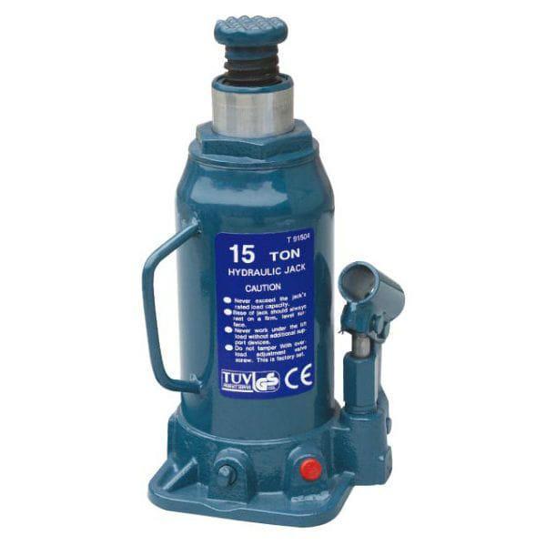 Домкрат бутылочный 15т 230-460 мм T91504 TORIN