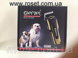 Тример-машинка для стрижки тварин Gemei GM-6063