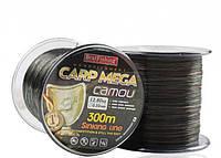 Леска BratFishing Carp Mega Camou 300м 0,18мм камуфляж