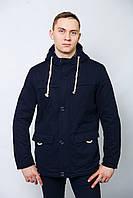 Парка куртка мужская осенняя весенняя демисезонная длинная спортивная классика