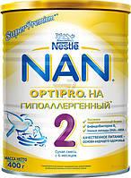 Сухая молочная смесь Nestle NAN 2 гипоаллергенная 400 г 7613031251742