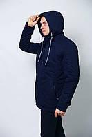 Парка куртка мужская осенняя весенняя демисезонная Катон удлиненная