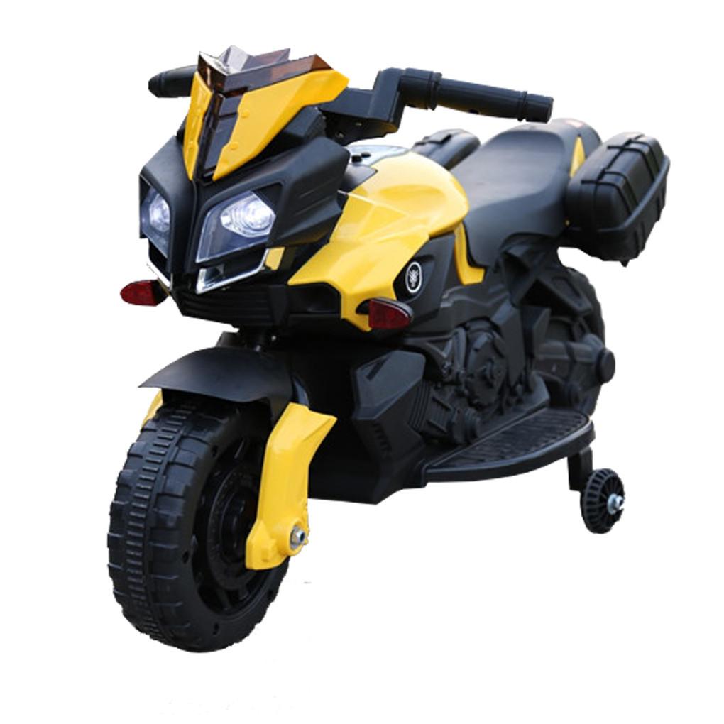 Электромобиль мотоцикл Т-7218 YELLOW