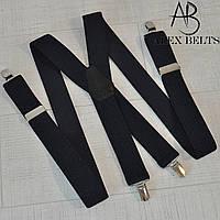 Подтяжка мужская взрослая (темно-синяя) 35 мм X-купить оптом в Одессе