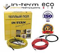 Теплый пол электрический в стяжку In-term ECO 14м пог(1,4-2,2м²)270 Вт Греющий нагревательный кабель