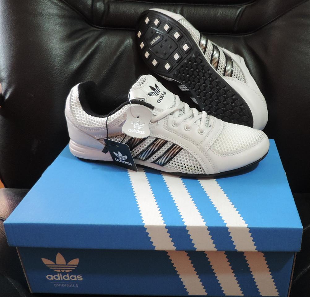 Детские кожаные кроссовки Adidas Originals Daroga. Натуральная кожа ... e34a49b698c