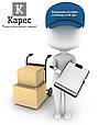 Бизнес-блокнот на резинке Franky Синий, фото 4