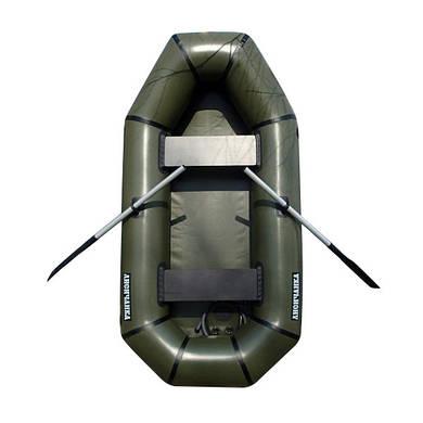 Надувная лодка 2 местная из пвх