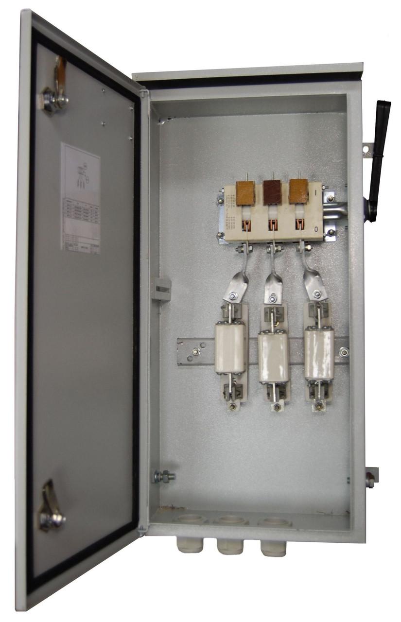 Ящик ЯПРП-250Г (IP54) Укомплектованный рубильниками и предохранителями BILMAX