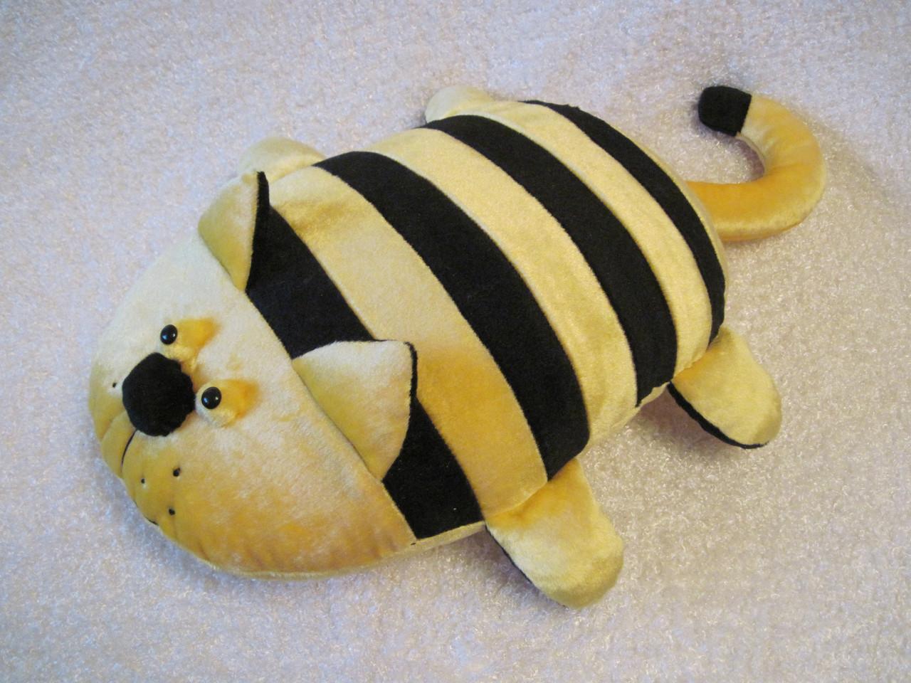 Мягкая игрушка - подушка кот Билайн ручная работа