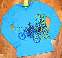 Стильная детская футболка Мотоциклист р.104,140