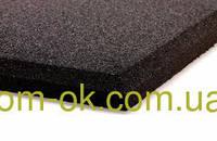 Безопасное резиновое покрытие для детских площадок 500*500мм, толщина 20 мм коричневый