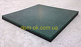 Покриття для дитячого майданчика, травмобезопасная гумова плитка 500*500мм, товщина 30 мм бежевий, фото 6