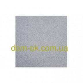 Травмобезопасная резиновая плитка для детских площадок 500*500мм, толщина 35 мм серый