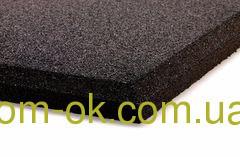 Травмобезопасная резиновая плитка для детских площадок 500*500мм, толщина 35 мм коричневый