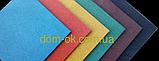 Гумова плитка для дитячих і ігрових майданчиків 500*500 мм, товщина 40 мм синій, фото 7