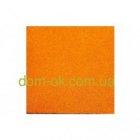 Резиновое напольное покрытие для открытой террасы 500*500мм, толщина 50 мм желтый