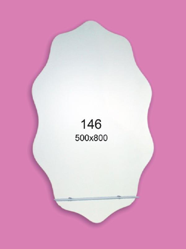 Зеркало для ванной комнаты 500х800 Ф146