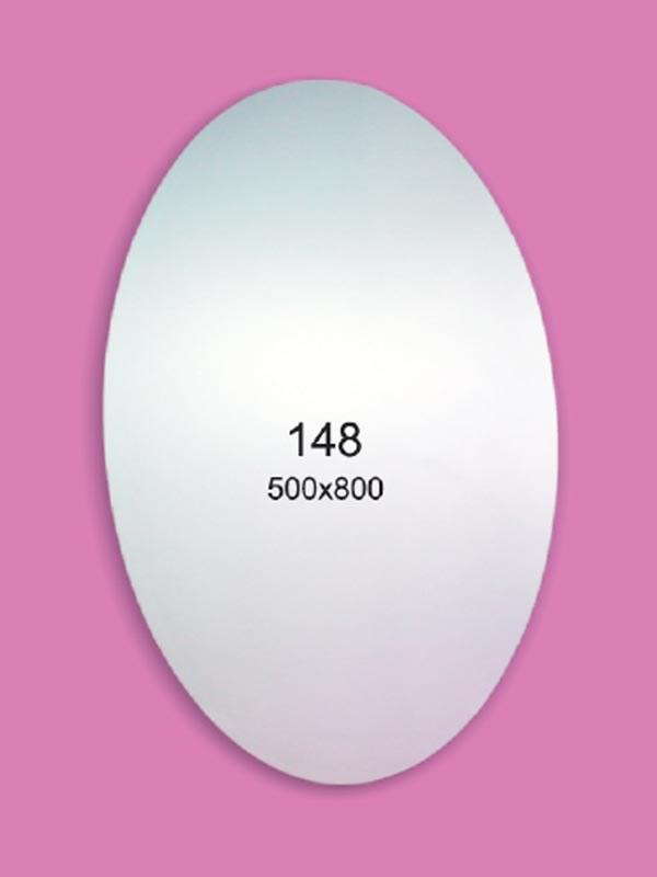 Зеркало для ванной комнаты 500х800 Ф148