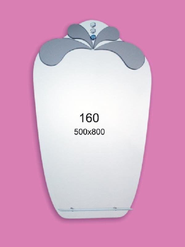 Зеркало для ванной комнаты 500х800 Ф160