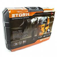 Перфоратор STORM 1600 Вт, 3 режима, 730 об/мин, 4000 уд/мин INTERTOOL WT-0153, фото 1