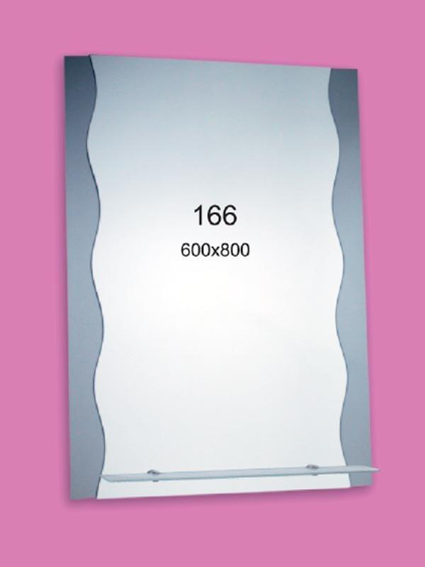Зеркало для ванной комнаты 600х800 Ф166