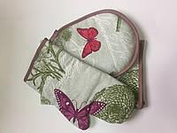 "Кухонный набор три предмета ""Хозяюшка"" Бабочки"