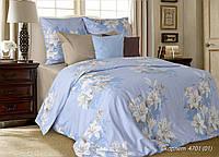 Комплект постельного белья двуспальный Скарлет ( нав. 70*70)