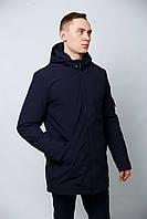 Куртка парка молодежная удлиненная весенне-осенняя мужская