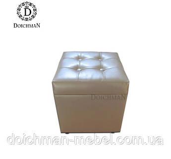 Белый пуфик с ящиком