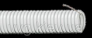 Труба гофрированная ПВХ d 25 с зондом 50 м IEK