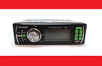 Автомагнитола KENWOOD MP3 1056, Штатная автомобильная магнитола с USB, MP3, AUX, FM, Магнитола в машину 1din