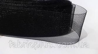 Регилин  черный (кринолин) 6 см
