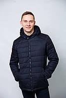 Куртка весенне-осенняя мужская удлиненная классика єврозима спортивная