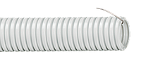 Труба гофрированная ПВХ d 50 с зондом 15 м IEK