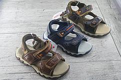 Босоножки, сандали детские на липучке Faraondi,обувь из натуральной кожи, летняя, подростковая, размеры 28-35