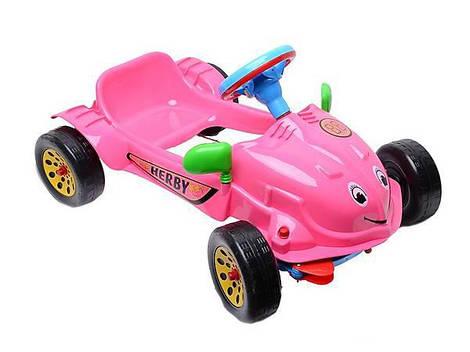 Машинка педальная Kinderway Херби (09-901)