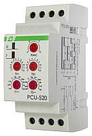 Реле часу РСU-520 багатофункціональний 0,1 сек. - 24 доби 230В F&F