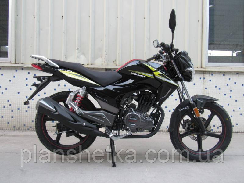 Мотоцикл Hornet GT-150 (150куб.см) чорний