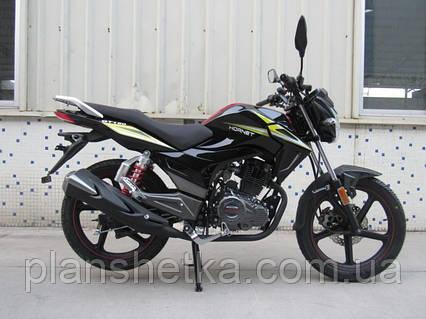 Мотоцикл Hornet GT-150 (150куб.см) чорний, фото 2