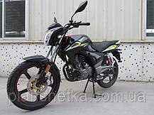 Мотоцикл Hornet GT-150 (150куб.см) чорний, фото 3